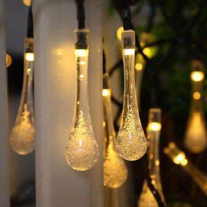 Đèn LED Giọt Nước Chạy Năng Lượng Mặt Trời