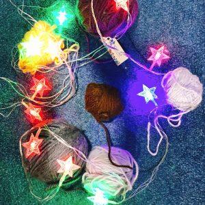 Đèn sao nhiều màu-Chạy Điện
