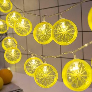 Đèn lát chanh 3m trang trí chạy điện có số lượng 20 bóng dài 3m